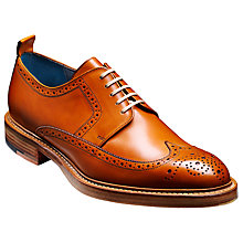 Buy Barker Bailey Goodyear Stormwelted Leather Brogue Shoes, Cedar Online at johnlewis.com