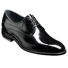 Buy Barker Wickham Derby Shoes, Black Online at johnlewis.com