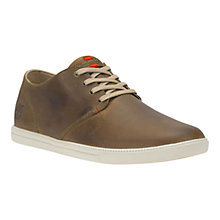 Buy Timberland Earthkeepers Fulk Leather Trainers, Brown Online at johnlewis.com