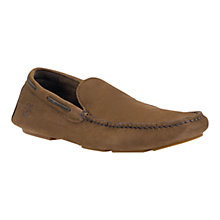 Buy Timberland Earthkeepers Heritage Venetian Leather Driver Shoes, Dark Brown Online at johnlewis.com