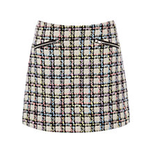 Buy Warehouse Tweed Check Skirt, Multi Online at johnlewis.com