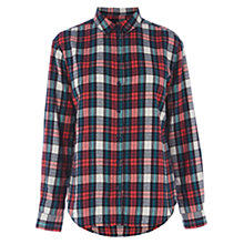 Buy Warehouse Brushed Cotton Check Shirt, Multi Online at johnlewis.com