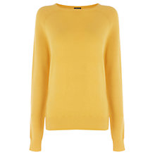 Buy Warehouse Textured Sleeve Jumper Online at johnlewis.com