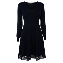Buy Oasis V-Neck Lace Dress Online at johnlewis.com