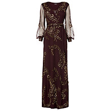 Buy Phase Eight Collection 8 Beaded Full Length Dress, Blush Online at johnlewis.com