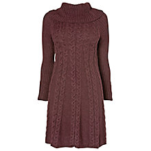 Buy Phase Eight Coral Cable Swing Dress, Port Online at johnlewis.com