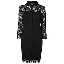 Buy Phase Eight Annalise Lace Tunic Dress, Black Online at johnlewis.com