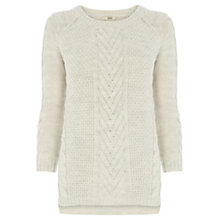 Buy Oasis Phoebe Jumper, Off White Online at johnlewis.com