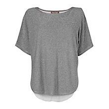 Buy Phase Eight Macey Knit Jumper, Silver Online at johnlewis.com