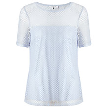 Buy COLLECTION by John Lewis Mona Short Sleeve Lace Top Online at johnlewis.com