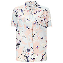 Buy John Lewis Capsule Collection Blossom Print Silk Shirt, Multi Online at johnlewis.com