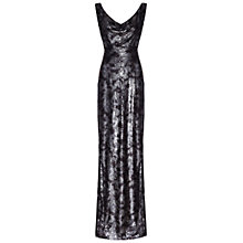 Buy Damsel in a dress Powderham Dress, Silver Online at johnlewis.com