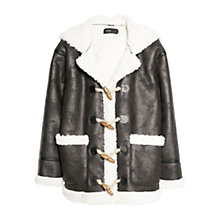 Buy Mango Faux Sherling-Lined Jacket Online at johnlewis.com
