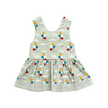 Buy Little Green Radicals Balloon Dress, Green Online at johnlewis.com