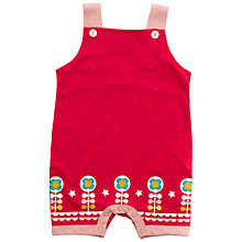 Buy Little Green Radicals Rose Flower Dungarees, Pink Online at johnlewis.com