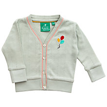 Buy Little Green Radicals Balloon Cardigan Online at johnlewis.com