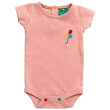 Buy Little Green Radicals Pointelle Balloon Bodysuit Online at johnlewis.com