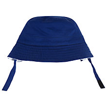 Buy John Lewis Anchor Reversible Sun Hat, Navy/White Online at johnlewis.com