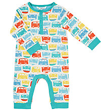 Buy John Lewis Campervan Print Bodysuit, Multi Online at johnlewis.com
