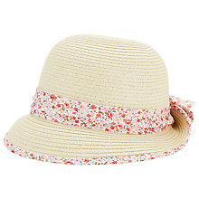 Buy John Lewis Cloche Straw Hat, Straw Online at johnlewis.com
