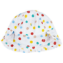 Buy John Lewis Baby's Ditsy Keppi Hat, Multi Online at johnlewis.com