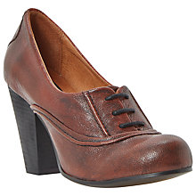 Buy Bertie Annise Leather Lace Up Shoe Boots Online at johnlewis.com