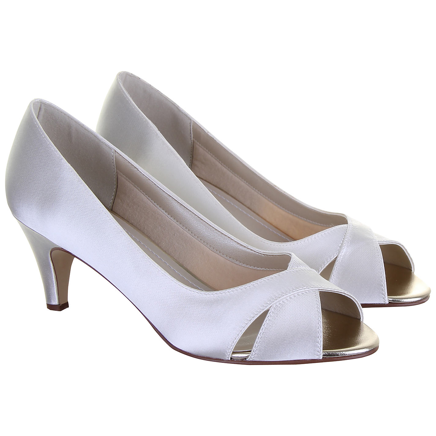 Cream Kitten Heel Shoes Uk