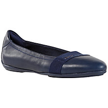 Buy Geox Charlene Leather Pumps, Navy Online at johnlewis.com