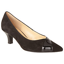 Buy Gabor Ciara Pointed Suede Leather Court Shoes Online at johnlewis.com