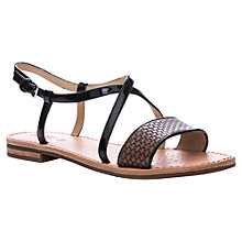 Buy Geox Jolanda Sandals, Grey Online at johnlewis.com