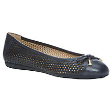 Buy Geox Lola Leather Pumps, Demim Online at johnlewis.com