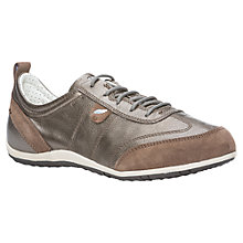 Buy Geox Vega Leather and Suede Trainers Online at johnlewis.com