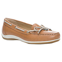 Buy Geox Yuki Leather Leather Loafers Online at johnlewis.com
