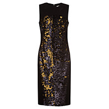 Buy Damsel in dress Trevano Dress, Black/Gold Online at johnlewis.com