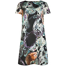 Buy Ted Baker Florala Glistening Gems Tunic Dress, Black Online at johnlewis.com
