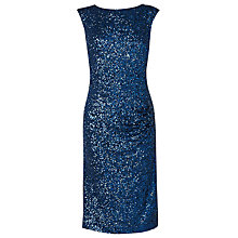 Buy L.K. Bennett Cherry Sequin Bodycon Dress, Blue Online at johnlewis.com
