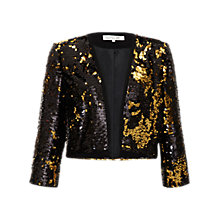 Buy Damsel in a dress Trevano Jacket, Gold Online at johnlewis.com
