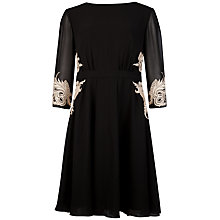Buy Ted Baker Gaenor Embellished Detail Dress, Black Online at johnlewis.com