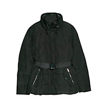 Buy Mango Belted Feather Down Coat Online at johnlewis.com