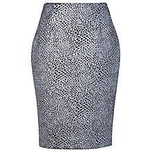 Buy L.K. Bennett Hilary Pencil Skirt, Gunmetal Online at johnlewis.com