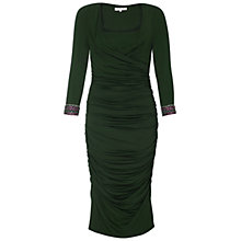 Buy Damsel in a dress Silverton Dress, Green Online at johnlewis.com