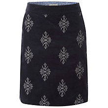 Buy White Stuff Cotton Canvas Skirt, Irish Blue Online at johnlewis.com