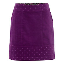 Buy White Stuff Mad Hatter Skirt, Hypno Purple Online at johnlewis.com