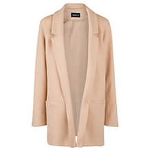 Buy Mango Unstructured Coat, Medium Brown Online at johnlewis.com