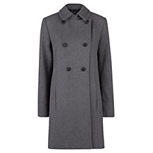 Buy Mango Convertible Coat, Medium Grey Online at johnlewis.com
