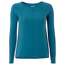 Buy White Stuff Falls Jumper, Peacock Teal Online at johnlewis.com