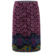 Buy White Stuff Roma Print Skirt, Ornamental Online at johnlewis.com