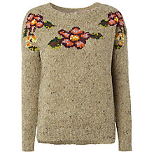 Buy White Stuff Heather Jumper, Natural Online at johnlewis.com