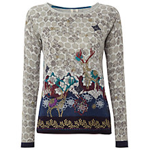 Buy White Stuff Deer Jumper, Multi Online at johnlewis.com