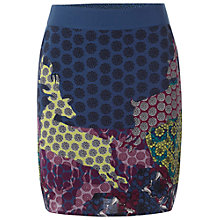 Buy White Stuff Soft Roma Skirt, Ornamental Online at johnlewis.com